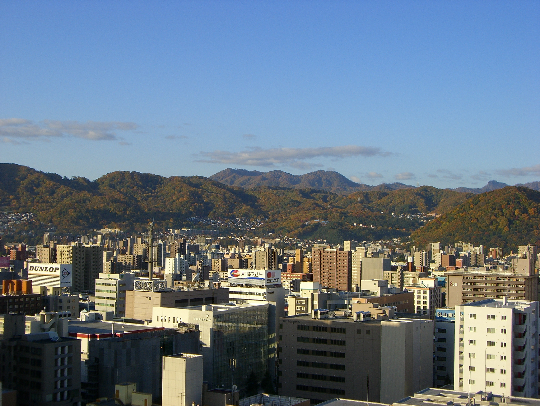 円山方面の山々